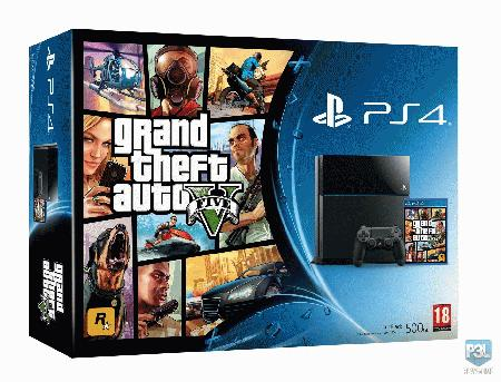 SONY PlayStation 4 500GB uz igru: GTA V igrace_konzole